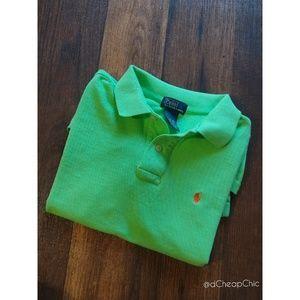 ✨Lime Green Polo Shirt